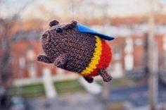 Cerdo Volador Amigurumi ~ Patrón Gratis en Castellano