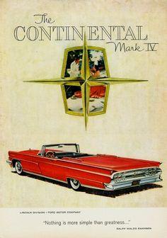 1959 Continental Mark IV Convertible