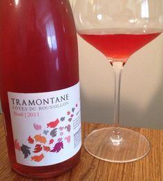 Pretty and Pink: Raise a Glass for Rosé: 2011 Tramontane Wines Rosé, Côtes du Roussillon, France