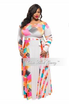 New Arrival New Plus Size Maxi Dress in Black, Lime Green and ...