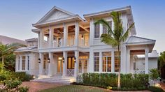 Home Plan HOMEPW77802 - 5654 Square Foot, 5 Bedroom 5 Bathroom + Low Country Home with 3 Garage Bays | Homeplans.com