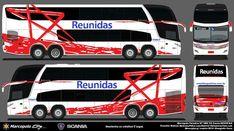 Onibus Marcopolo, Luxury Bus, Buses, 1, City, Design, Paper, Home Plans, Miniatures
