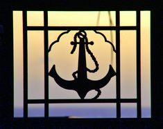The Beautiful sunset behind the anchor-window with amazing colors. Beautiful Sunset, Superhero Logos, Anchor, Windows, Colors, Amazing, Art, Craft Art, Anchors