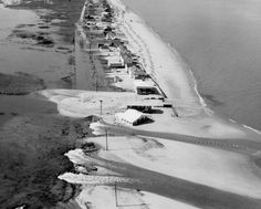 Delaware Public Archives Pickering Beach to Slaughter Beach, 1962 Lewes Delaware, Delaware River, Flooded House, Dewey Beach, Bethany Beach, Ash Wednesday, Sussex County, Sea Level Rise, Rehoboth Beach