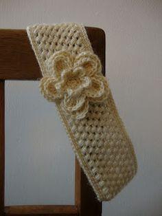 Vanilla Crochet Headband