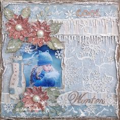 Stunning layout by Amy Voorthuis..! <3  #layout #LO #lo #scrapbooking #scrapbook #scrapping #scrap #papercraft #papercrafting #papercrafts #majadesign #majadesignpaper #majapapers #inspiration #vintage