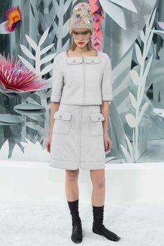Chanel Spring 2015 Couture Fashion Show - Sasha Luss (Elite)