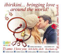 LOVE ... Everywhere!!! #love #amore #amour #madeinitaly #bijoux #ibirikini #ibirikinilove #ibirikiniinternational #ibirikinibrand