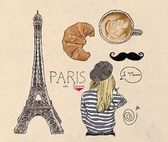 I love the french clichés ;)  (we're all wearing a striped sweater and a béret ;)
