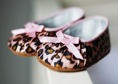 What adorable shoes for little girls!