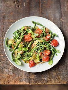 Spinach pici pasta | Jamie Oliver