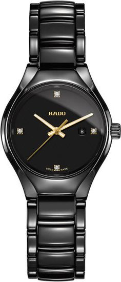 Rado Watch True Sm #basel-15 #bezel-fixed #bracelet-strap-ceramic #brand-rado #case-material-ceramic #case-width-30mm #date-yes #delivery-timescale-call-us #dial-colour-black #gender-ladies #luxury #movement-quartz-battery #new-product-yes #official-stockist-for-rado-watches #packaging-rado-watch-packaging #style-dress #subcat-true #supplier-model-no-r27059712 #warranty-rado-official-2-year-guarantee #water-resistant-50m