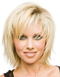 Image result for 2016 curly shag haircuts for women