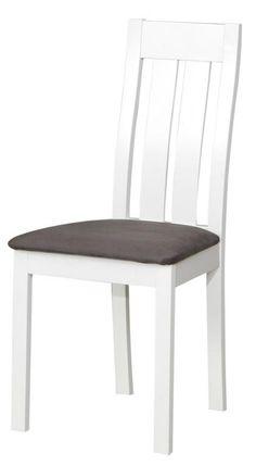 Krzesło drewniane białe C25 salon krzesła jadalnia