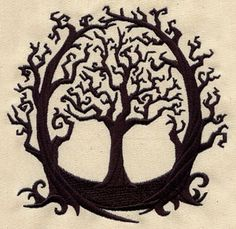 The Old Oak | Urban Threads: Unique and Awesome Embroidery Designs