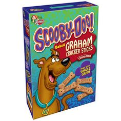 Great For A Puppy Party Keebler Scooby Doo Baked Cinnamon Graham Cracker Sticks
