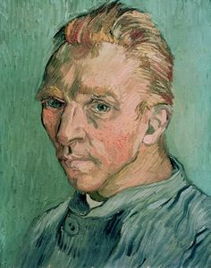 'Self-Portrait' by Vincent van Gogh (1889)