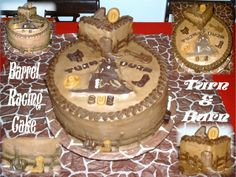 Barrel Racing Cake!