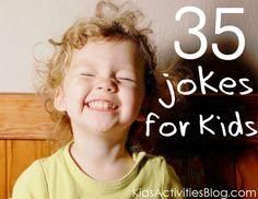 35 Jokes for Kids - Kids Activities Blog