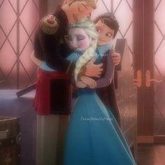 Agdar, Elsa, and Idunn.