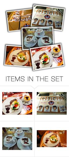 """""""Detective Conan Cafe"""" by smile2528 ❤ liked on Polyvore featuring art"""