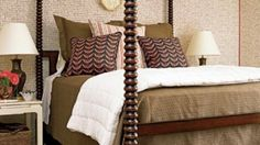 Inspiring Bedroom Interior Design with Brown Themes