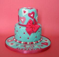 bolo amor s valentim Bolos decorados para o Dia dos namorados