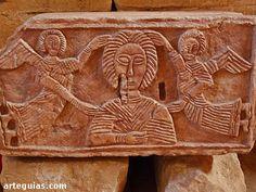 Bas-relief,visigothic Quintanilla de Las Viñas,Spain