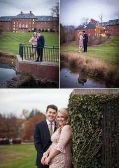 Click to view more of this sophisticated engagement session in Bristol, featuring photos by Tri-Cities wedding photographer Kadee's Approach Photography! | The Pink Bride www.thepinkbride.com