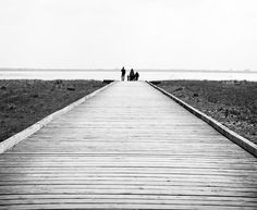 """Along the Pier, Lytham St Annes, UK From £19.99 , Recommended size: 30"""" x 24"""", Fine Art Canvas Wrap highly recommended"""