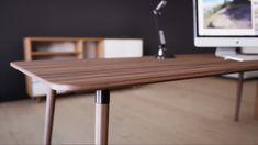 Design of the day: TYMBER NORDYC table #home #homeoffice #stayhome #designedbyyou #interior #table #furniture #inspiration #interiordesign #apartment #homedecor #mymycs #mycs #designoftheday #TYMBERtable #worktable Famous Furniture Designers, Home Office, Create Space, Furniture Inspiration, Office Interiors, Table Furniture, Decoration, Mid-century Modern, Mid Century