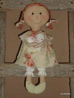 Mimin Dolls: Boneca menina carinhosa