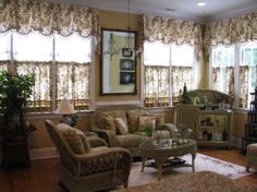 sunroom decorating ideas with wicker | knew it would be more useful as a sunroom, My green wicker sunroom ...