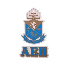 Alpha Epsilon Pi Waterslide Crest & Letter Combinations