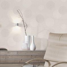 papier_peint_intisse_spot_bulles_blanc