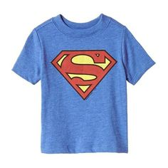 Old Navy DC Comics Superman Tees For Baby Size 12-18 M - Blueberry... ($12) ❤ liked on Polyvore featuring baby and baby clothes