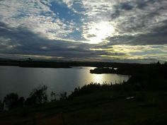 Atardecer en Huelmo, Puerto Montt, Chile