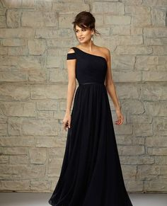LOVE this Angelina Faccenda dress for bridesmaids. Would definitely choose it in eggplant :)