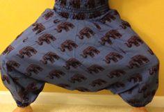 BlueGray Unisex Yoga Harem pants  Hand block by theBilvatree, $17.99 Yoga Harem Pants, Patterned Shorts, Blue Grey, Unisex, Trending Outfits, My Style, Shopping, Etsy, Fashion