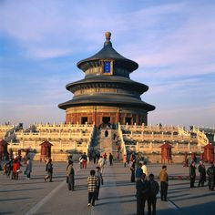 1 Day Tour: Forbidden City, Temple of Heaven, Summer Palace Places To Travel, Places To See, Travel Destinations, China Temple, Temple Of Heaven, Peking, Summer Palace, Small Group Tours, Beijing China