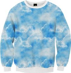 Clouds Sweatshirt - Available Here: http://printallover.me/collections/sondersky/products/0000000p-clouds-31