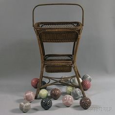 wonderful display piece for carpet balls