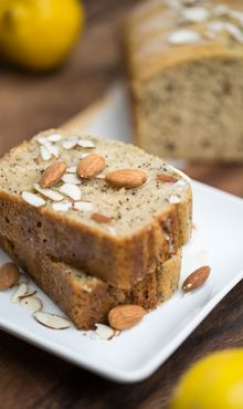 Almond Poppy Seed Bread by Blendtec