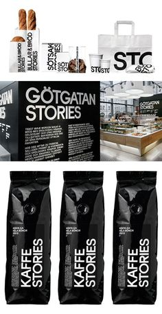 packaging and store branding design by BVD