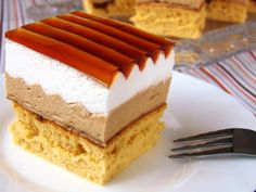 Polish Desserts, Mini Cakes, Vanilla Cake, Sweet Tooth, Cheesecake, Food And Drink, Sweets, Snacks, Dishes