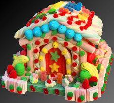 torta casita de golosinas