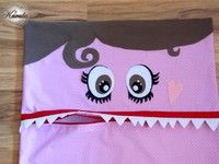 pajama eater: zipper mouth