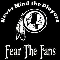 New Custom Screen Printed T-shirt Washington Redskins Never Mind