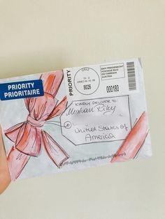 #enevolopeart #stationary #art #penpal #letters #penpalletters Pen Pal Letters, Pen Pals, Letter I, Happy Mail, Snail Mail, Stationary, Goals, Diy, Letters