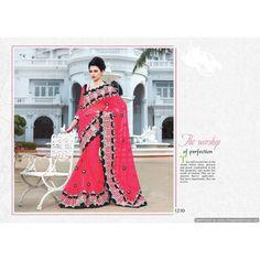 Chiffon, blouse: Dupian - Wedding Sarees by MIA